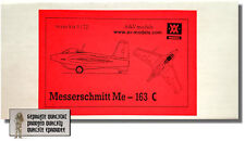 Messerschmitt ME 163 C - 1:72 - A&V Models - NEU in OVP - Nahe MINT