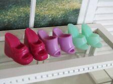 Barbie Shoes Bundle Shoes Sandals 1990s Genuine Mattel - VGC