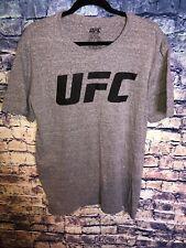 UFC Shirt Ultimate Fighting Championship Men's Logo Gray Graphic T-Shirt Size XL
