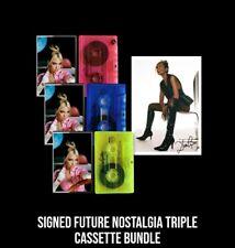 Dua Lipa -Nostalgia -UK Exclusive SIGNED art card trio Cassettes