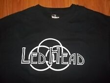 Promotional Led Zeppelin LED HEAD T-Shirt Large Rare Led hed band