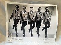 The Temptations 8 x 10 Promo Photo Motown Records