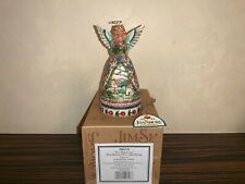 "Jim Shore Heartwood Creek 4.5"" New Beginnings Angel Figurine 4006720"
