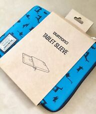 New Burton Vermont Tablet Sleeve Case Blue / Black Primitive Animals