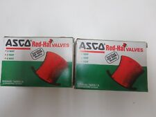 ASCO RED-HAT 093609 VALVES 8262, 8263 (QTY. 2)