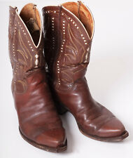 Vintage Western Boots Justin Texas size 7.5D all original