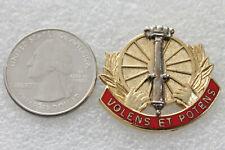New listing Us Army 5th Air Defense Artillery Unit Crest Di Dui Clutch Back G23 Hallmark