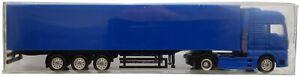 1:87 Scale AbraCARDabra MAN TGX Tractor Unit & Trailer - Blue - MIB