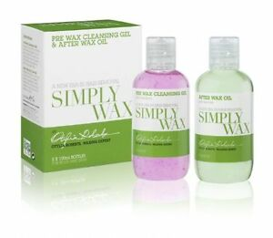 12 packs of Simply Wax Pre Wax Cleansing Gel and After Wax Oil by OTYLIA ROBERTS