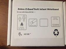 Zebra Z-Band Soft Infants Wristbands 10007746K - 275 Bands Cartridge