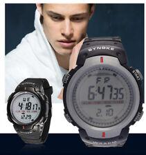 Unisex Life Waterproof Glow in Dark LED Digital Sport Wrist Watch