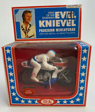 1976 IDEAL EVEL KNIEVEL PRECISION MINATURES CAFE RACER UNPUNCHED MIB.