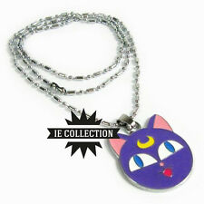 SAILOR MOON LUNA COLLANA IN METALLO bunny gatto necklace serenity cosplay doll