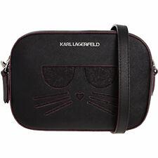 KARL LAGERFELD - K/SPHYNX CHOUPETTE Cat Crossbody, Black, RRP £150