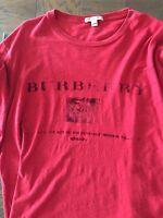 Men's Burberry Long Sleeve T-Shirt