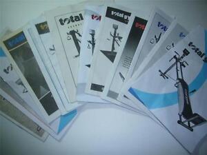 Total Gym Owners Manual Various Models