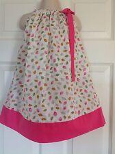 Girls Kids Children Clothing Pillowcase Dress Dresses Handmade size 6-12 month