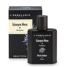 L'Erbolario GINEPRO NERO Black Juniper 100ml Eau de Parfum Perfume Lerbolario