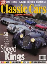 Classic Cars Dec 1996 - Rolls Royce Phantom II Continental,  Alfa Romeo, TR5,