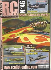 RC PILOT N°46 PLAN : F8F BEARCAT / TWISTER MPX / E-SMART / VARIATEURS PULSO