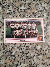 GENOA N. 363 album CALCIATORI PANINI 1978 1979 NUOVA CON VELINA DA BUSTINA