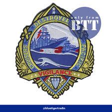 "Top Gun G-1 Flight Jacket Vigilance Badge Embroidered Patch Sew/Iron-on 5.75"""