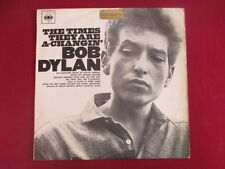 Bob Dylan orig.CBS  Lp - The Times They Are A-Changin',Australian pressing