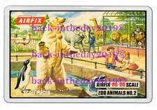 AIRFIX ZOO ANIMALS NO.2 BOX ART JUMBO FRIDGE LOCKER MAGNET