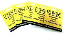 More details for clipper lighter flints universal for all types of lighters new 10 packs uk p&p