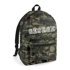 Personalised Named Packawa Backpack Back to School Bag Boys or Girls bg151 - NEW