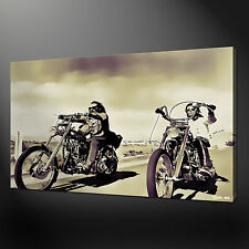 EASY RIDER CANVAS WALL ART PICTURE PRINTS FREE FAST UK DELIVERY