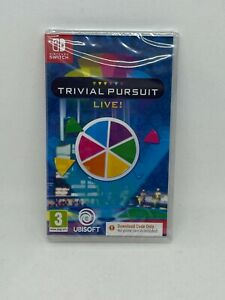 Trivial Pursuit - Nintendo Switch - BRAND NEW SEALED (Code in Box) - FREE DEL!