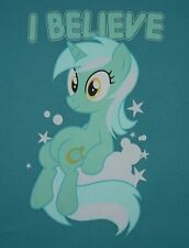 "My Little Pony - Lyra Heartstrings - ""I Believe""  t-shirt - size L - large"