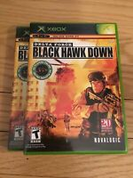 DELTA FORCE BLACK HAWK DOWN - XBOX - COMPLETE WITH MANUAL - FREE S/H - (Y)