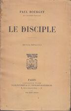 C1 Paul BOURGET - LE DISCIPLE Edition Definitive