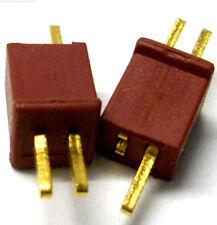 C0104 RC Battery Micro T-Plug Plug Connector Male Female x 2 Set