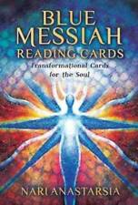 BLUE MESSIAH READING CARDS TRANSFORM FOR SOUL ORACLE TAROT DECK BOOKLET CAT ResQ