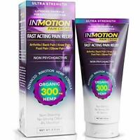Inmotion Pain Creme 2.5 OZ Ultra Strength Fast Acting Pain Relief Formula