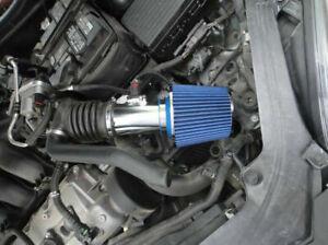 BCP BLUE 2006-2011 Mercury Milan 3.0L V6 Sport Ram Air Intake Kit w/Filter