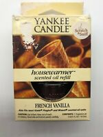 Yankee Candle Vintage Discontinued French Vanilla Housewarmer Scented Oil Refill