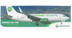 Aviation Trading - Boeing 737-700 Germania - D-AGES -  1:200 Flugzeug Modell