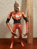 "Larfleeze 7"" figure Blackest Night DC Orange Lantern Green"