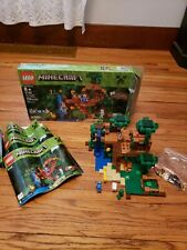 LEGO Minecraft The Jungle Tree House (21125) 99% complete