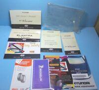 01 2001 Hyundai Tiburon owners manual