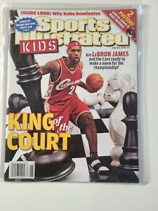 Lebron James Cleveland Cavaliers Sports Illustrated For Kids No Label 2008