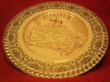 "8"" PORCELAIN Collector Plate CANADA Royal Canadian Mounted Police [Z61]"