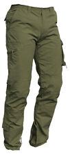 Pantaloni pantalone cargo cotone lavoro multi tasche ISSA LINE 8028 Raptor verde