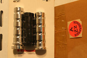 original Kawasaki Griffe 99990-721B NEU+OVP ALU poliert mit Gummieinsatz NP80€
