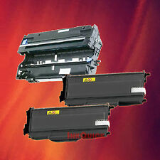 Toner Cartridge TN-360 & Drum DR-360 for Brother 3 Pack