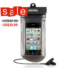 DRiPRO Waterproof Case with waterproof earphone for iPhone 4S